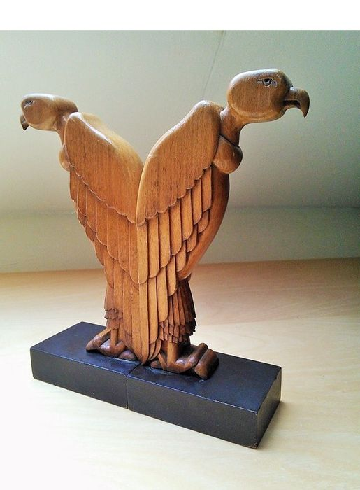 Amsterdamse School - Vultures Bookends (2)