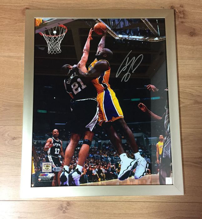 Los Angeles Lakers - NBA Basketbal - Shaquille O'Neal - Framed Photo