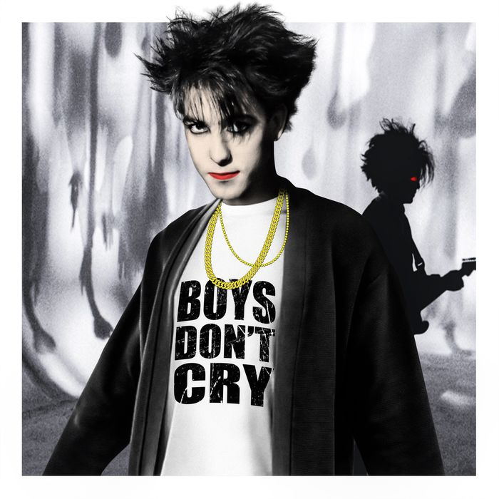 Mr Sly - The Cure, Boys don't cry