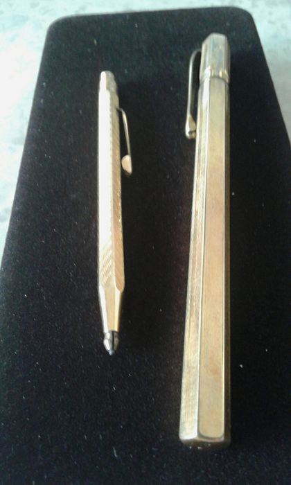 Sagitta - Universal - Mechanical pencil + door mine - laminated - gold of 2