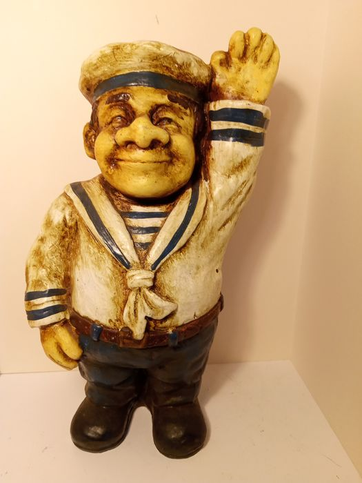 Sailor promotional figure - Polystone or Resin