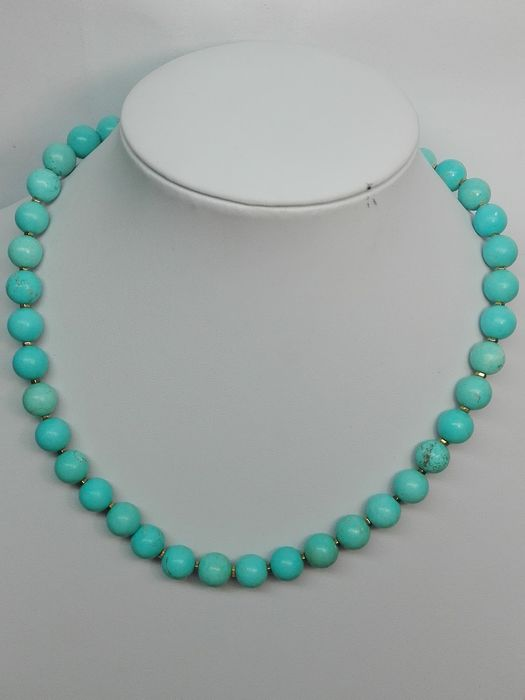 Turquoise Sphere - 10×10×430 m - 58 g