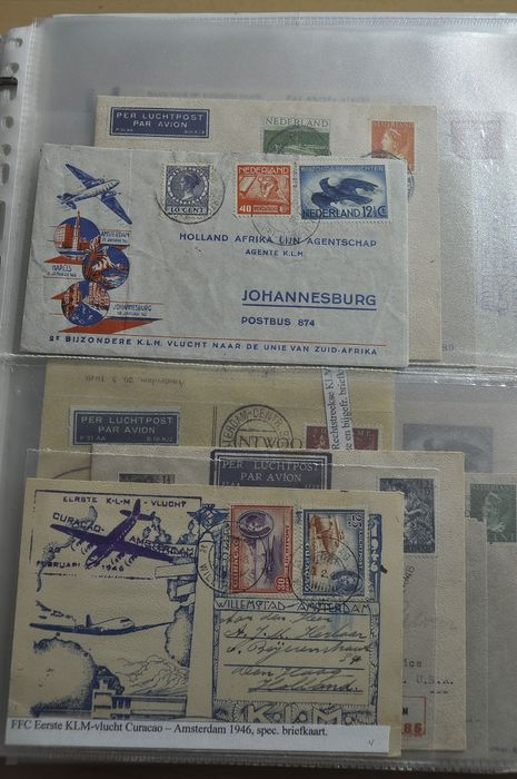 Netherlands and Overseas territories - Batch of FDCs, special