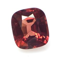 1 pcs Rood oranje Spinel - 3.08 ct