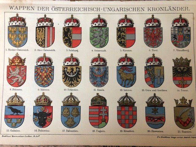 Germany - Army/Infantry - Antique military prints of Orders, Weapons, Flags, Military Locations, Weapons, Guns, - 1895
