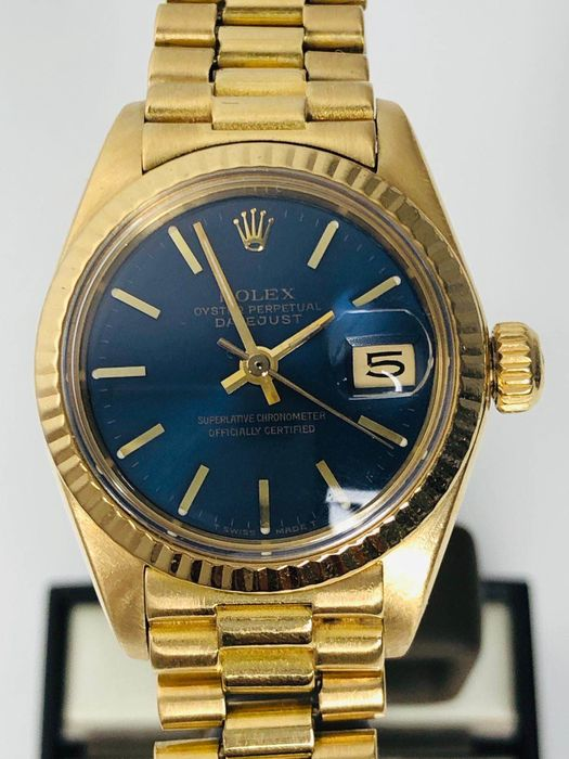 Rolex - Oyster Perpetual Datejust 6917 - Dames - 1980-1989