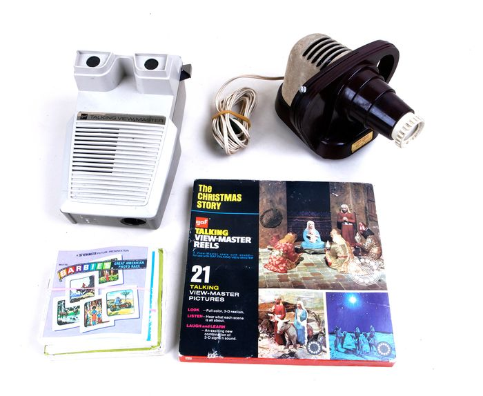 Sawyer's (View-Master) Talking View-Master/projectie