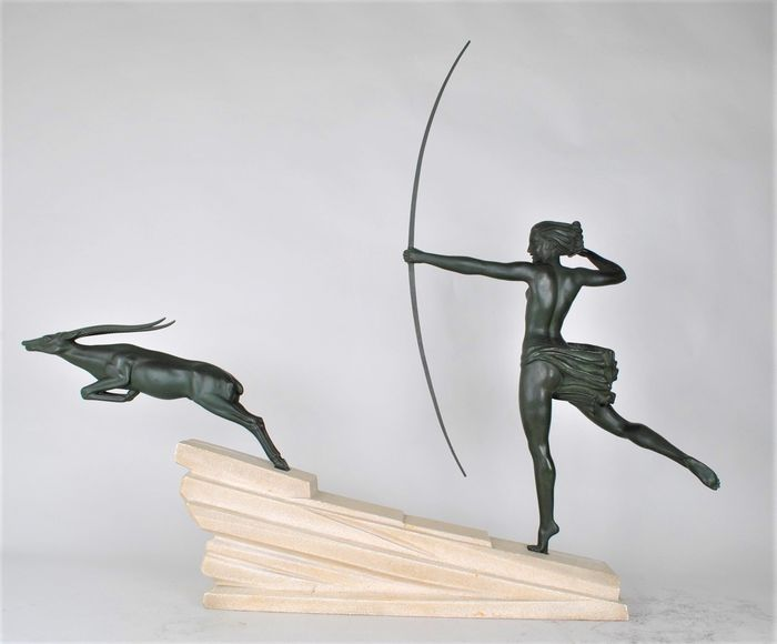 'Atalante' - Demarco - Max le Verrier - Sculpture