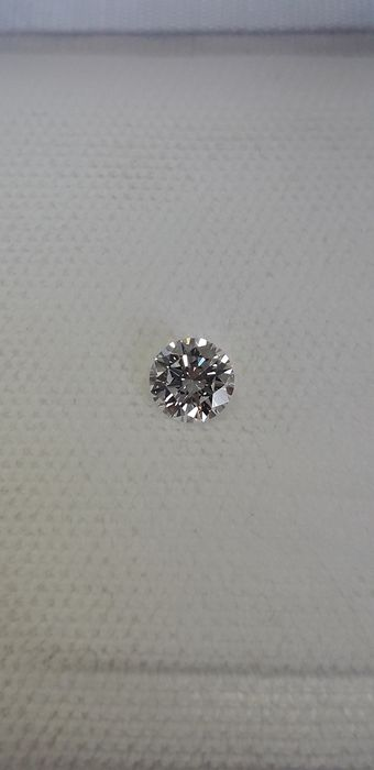 1 pcs Diamond - 0.42 ct - Brilliant - D (colourless) - IF (flawless)