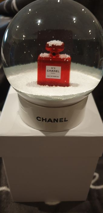 chanel - snowball Chanel rare N5 red collection (snow globe) - Glass