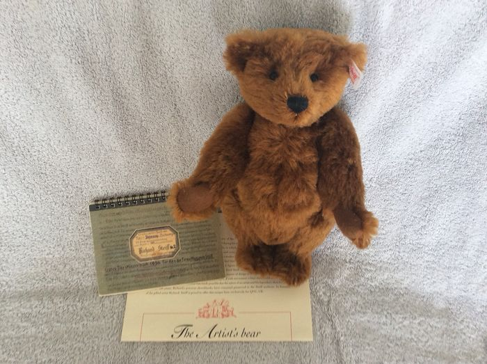 Steiff - Beer - 660986 - The Artist's Bear - Mint - with CoA and Sketchbook of Richard Steiff - Limited Edition