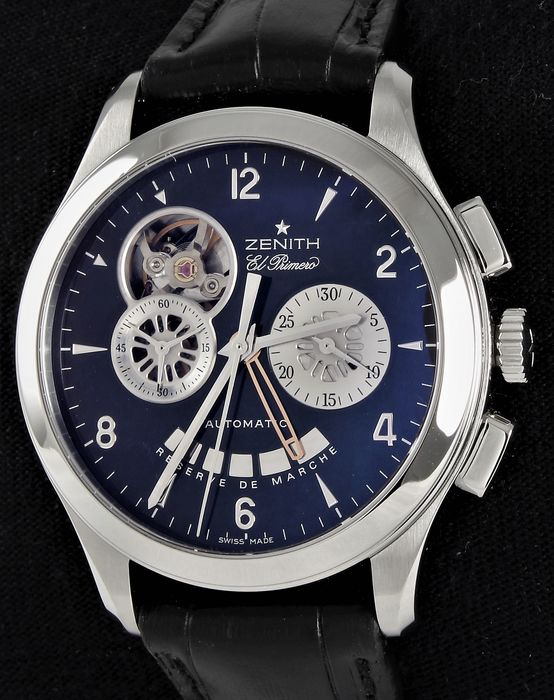 Zenith - Class El Primero T Open - Swiss  Automatic  - Ref. No: 03.0510.4021 - Excellent Condition - Warranty - Men - 2011-present