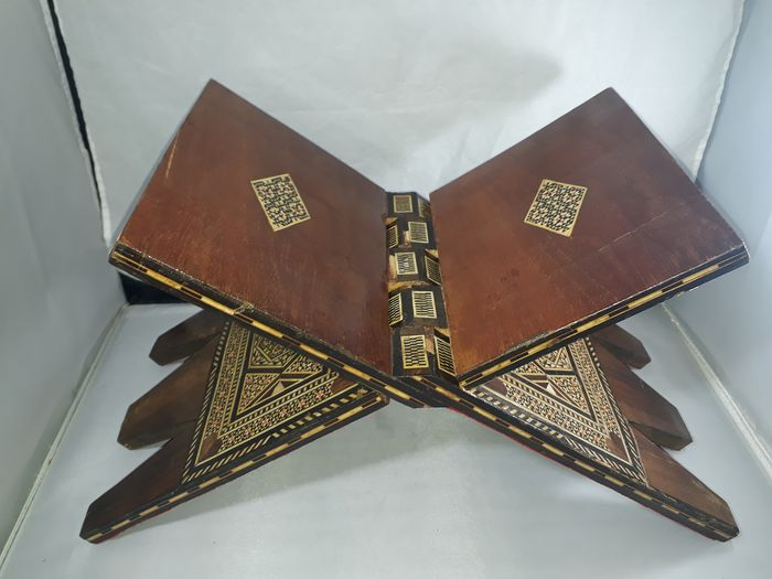 A Turkish old hand made 1930s nacre  - lectern