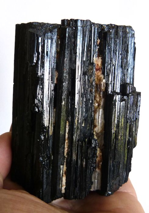 Tourmaline (group of silicate minerals) Mineral collection - 9.3 X 7.4 cm - 780 g