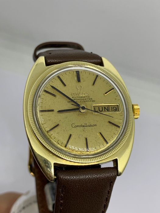 Omega - constellation chronometer officially certified  -  CD 168029 cal 751 - Men - 1970-1979