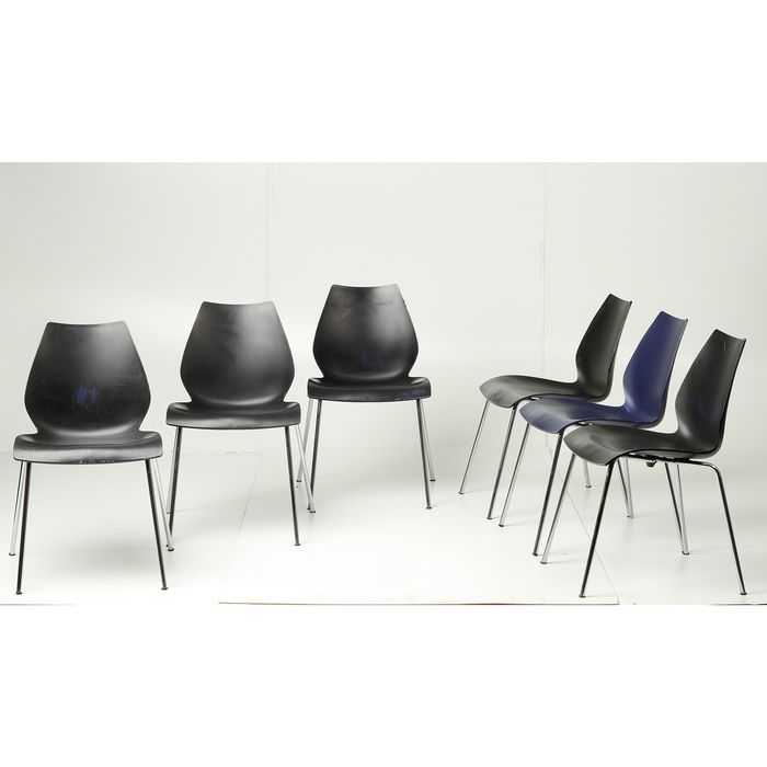 Vico Magistretti - Kartell - Seating group (6) - Maui