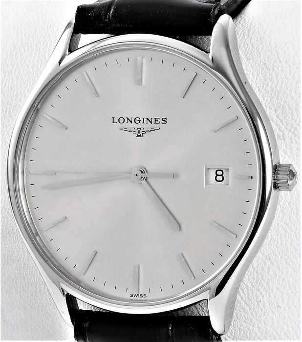 Longines - LYRE - Elegance Collection - La Grande Classique De Longines - Ref. No: L4.759.4.12.2 - Excellent Condition - Warranty - Men - 2007
