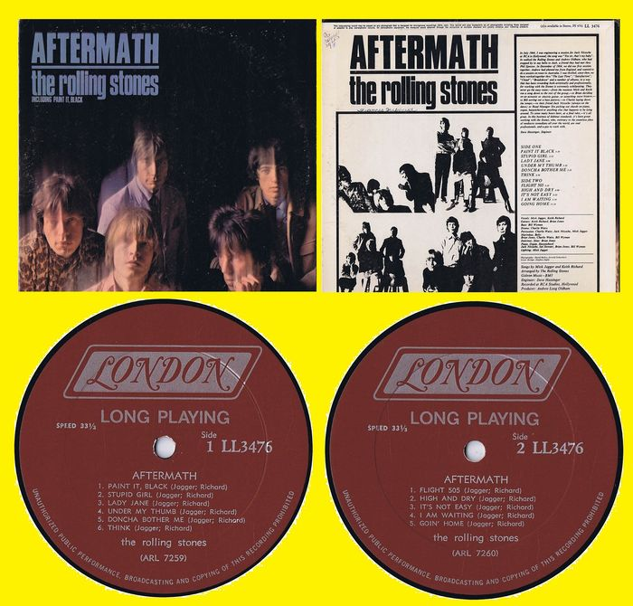 THE ROLLING STONES - Aftermath - LP album - 1966/1966 - Catawiki