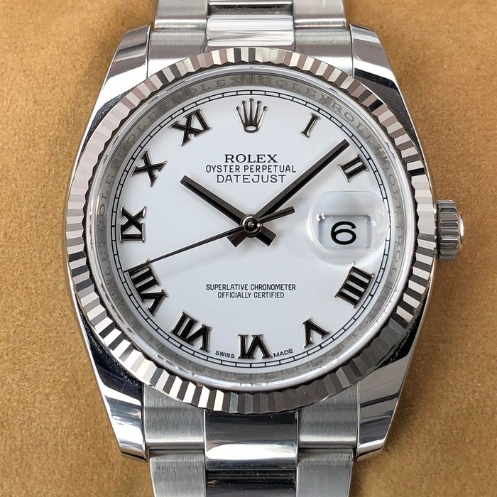 Rolex -  Oyster Perpetual Datejust  - 116234 - Unisex - 2000-2010