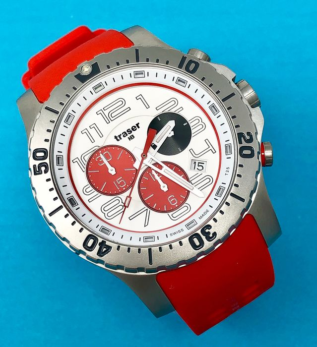 Traser - Limited Edition P66 elite Chronograph TdS Champion Swiss Made - 107394 - Hombre - Brand New