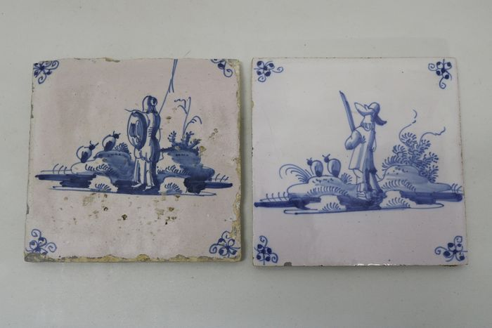 Tile picture (2) - Earthenware