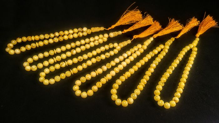 Tasbih Misbaha 33 beads Prayer (6) - Baltic Amber