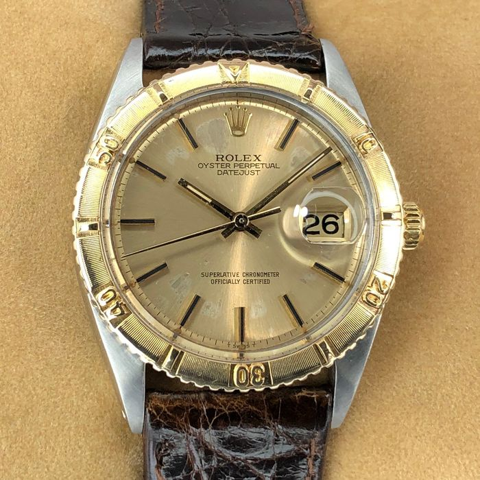 Rolex - Datejust Turn-O-Graph - 1625 - Unisexe - 1960-1969