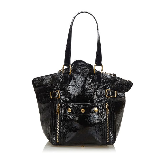 YSL - Patent Leather Downtown Tote Bag Tote bag
