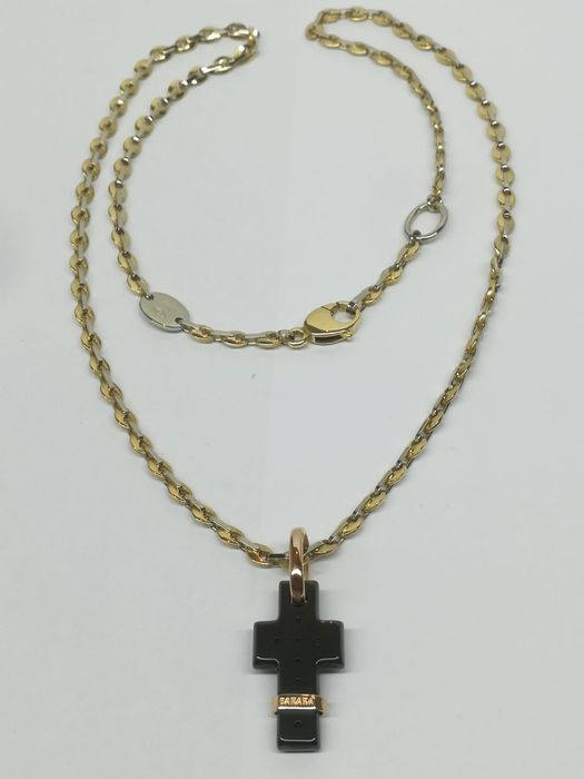 barakà - 18 kt. Pink gold, White gold, Yellow gold - Necklace with pendant