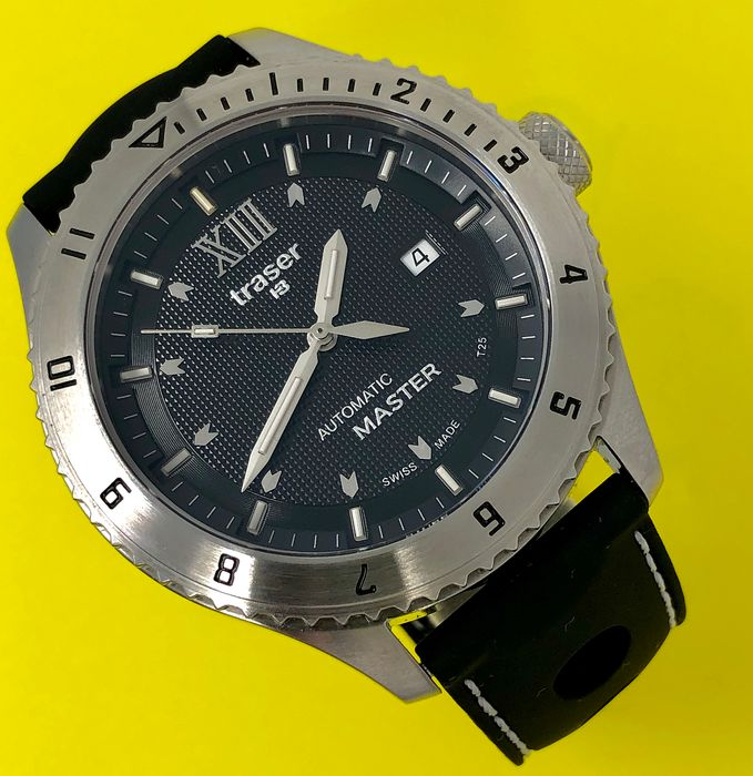 Traser - T5 Automatic Master Watch with Rubber Strap Swiss Made - 100262 - Men - Brand New