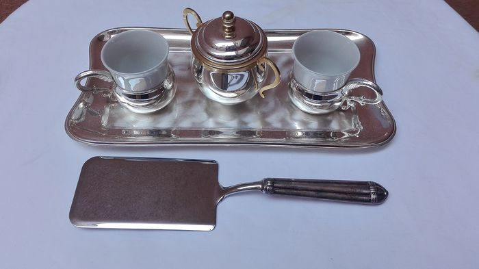 Coffee service - Cake Serve - Silver Plated