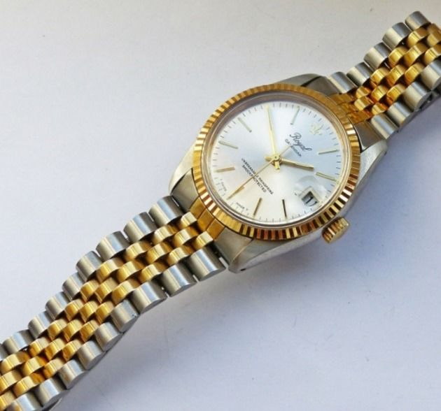 "Royal Swiss made - VisoDate - ""NO RESERVE PRICE"" - 6443 - Women - 1980-1989"
