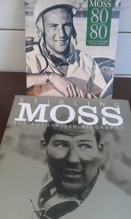 Books - Stirling Moss - The Authorised biography - 2001-2009
