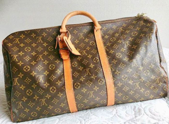 Louis Vuitton - keepall 55 Reistas