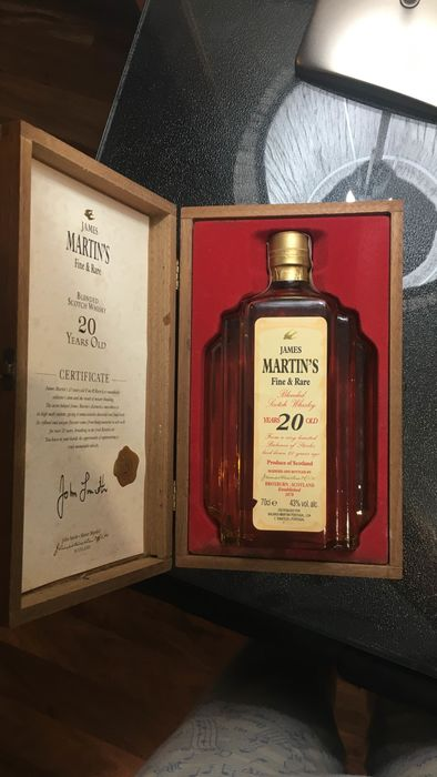 James Martin's 20 years old Fine & Rare - 70cl