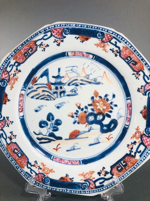 Plate (1) - Porcelain - China - Qianlong (1736-1795)