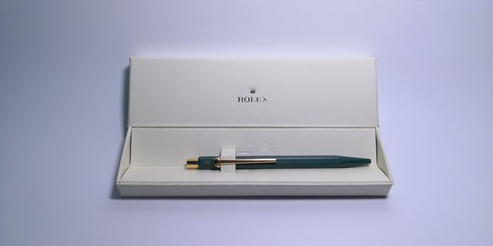 Rolex -  Pen Green Ballpoint in Original Box W/ Logo crown - Unisex - 2011-present