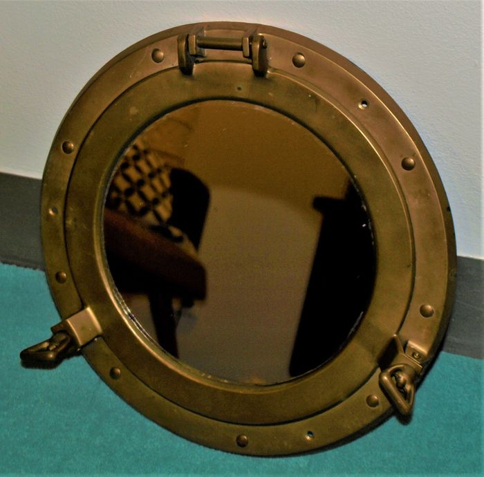 Mirror, Porthole (1) - Copper