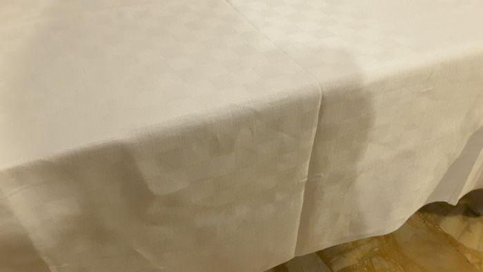 Tablecloth with napkins (13) - damask linen