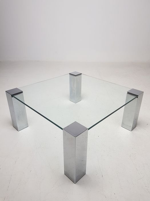 Willy Rizzo Coffee Table.Willy Rizzo Cidue Glass Coffee Table Catawiki