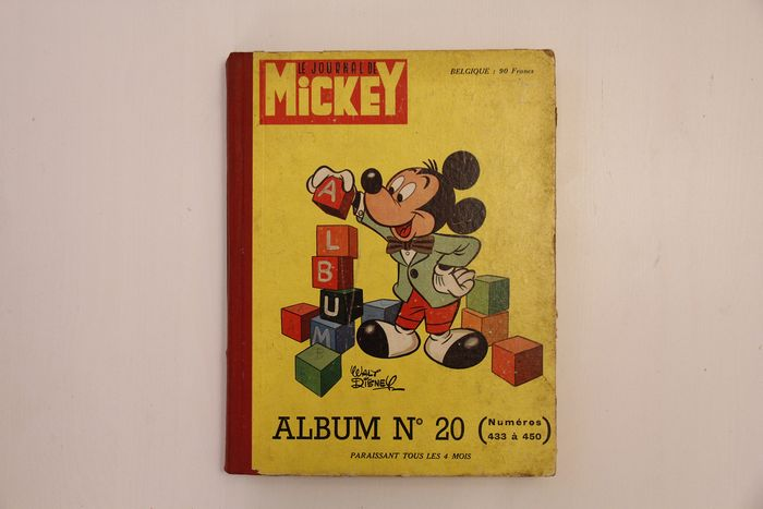 Mickey Magazine - Le journal de Mickey - First edition - (1960)