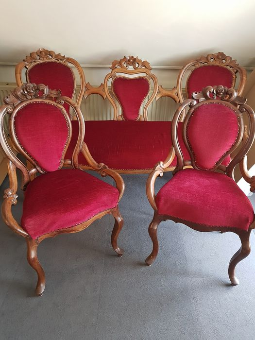 Seating group (3) - Louis Philippe Style