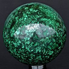 First quality Malachite sphere - 8.8×8.8×8.8 cm - 1269 g