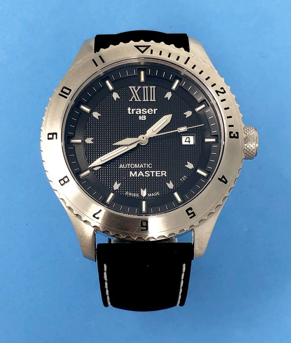 Traser - T5 Automatic Master with Rubber Strap Swiss Made - 100262 - Homme - Brand New