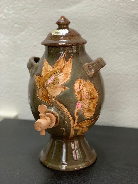 Vallauris - vinegar jar / azijnpot (1) - Ceramic