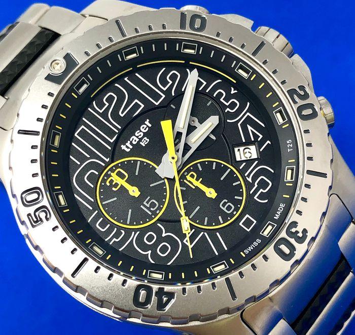 "Traser -  P66 Elite Chronograph with Trigalight®  -  105860 "" NO RESERVE PRICE"" - Herren - Brand New"