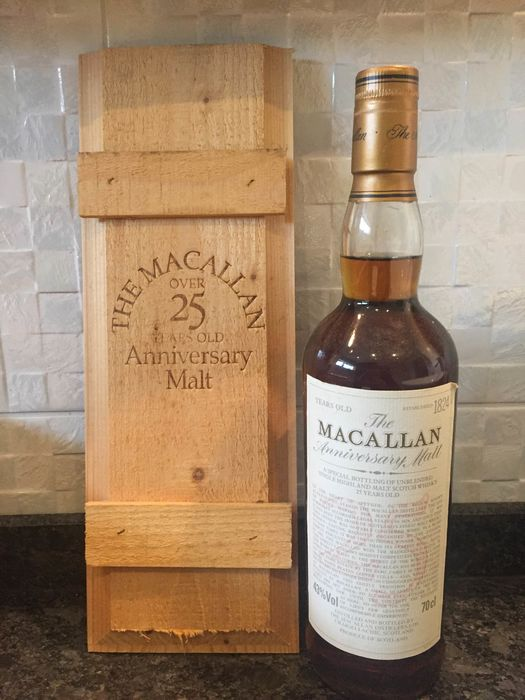 Macallan 25 years old - Original bottling - 70cl