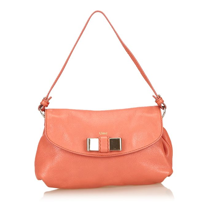 Chloe - Leather Lily Handtas