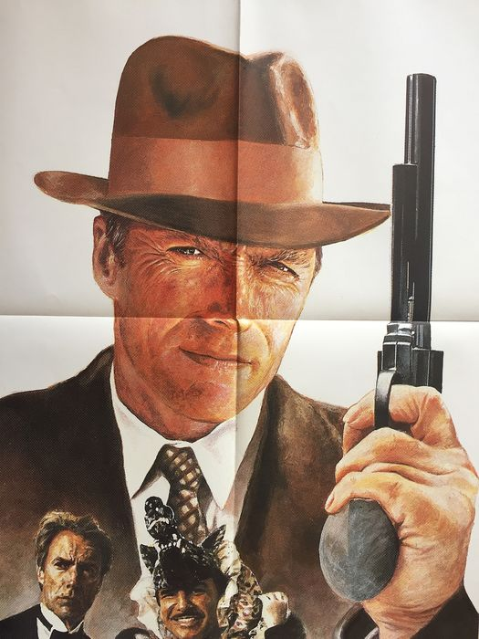 Clint Eastwood - City Heat - Original French cinema poster