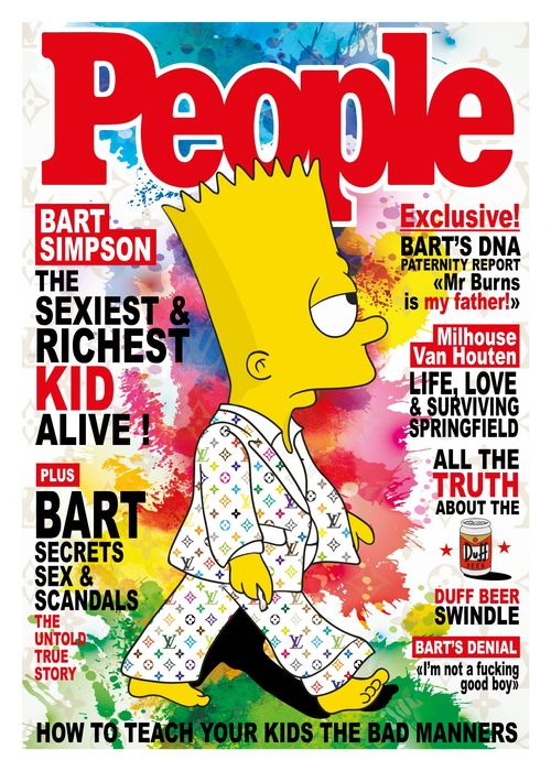 Kobalt - Bart Simpson's fashion week